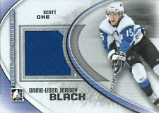 (HCW) 2011-12 ITG Heroes and Prospects Black SCOTT OKE /100* Jersey 02300