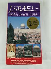 ISRAEL-GODS CHOSEN LAND VHS Video Angel Award Winner 1988 The Garden Tomb +