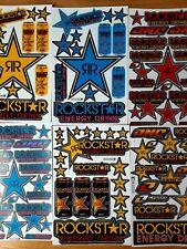 Lot of 20 Rockstar Energy Drink Stickers Racing Motorcycle Motocross Atv Racing