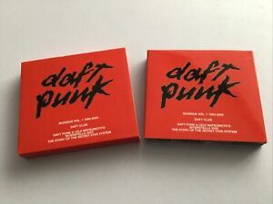 Daft Punk Musique /Daft Club/Interstellar 555 BOX SET CD/DVD 2001 5.1 DTS LOOK