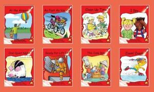 Red Rocket Readers ~ Early Level 1 ~ Fiction Set B ~ Guided Fluency Reading ~ BN