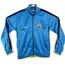 Vintage Nike Barcelona FCB Full Zip Up Mens Medium Soccer Jacket