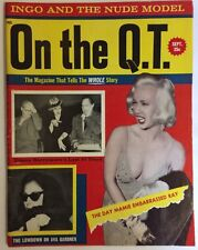 On The Q.T. Magazine (September 1960, Vol. 4, No. 3) Ava Gardner Diana Barrymore