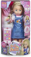 """Call Me Chloe Deluxe 18"""" Interactive Talking Toddler Doll Playset & Accessories"""
