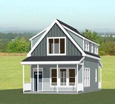 18x30 House -- PDF Floor Plan -- 999 sq ft -- Model 11B