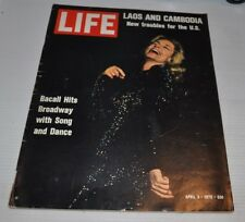 LIFE Magazine April 3 1970 LAUREN BACALL Cover