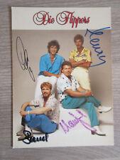 Die Flippers original handsignierte Autogrammkarte Musik TT2
