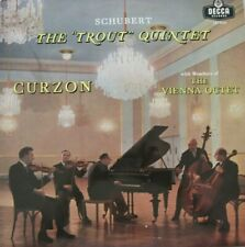 CLIFFORD CURZON / THE VIENNA OCTET - SCHUBERT - THE TROUT QUINTET - LP