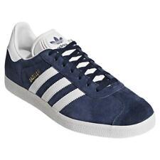 Adidas Originali UOMO Gazzella le Scarpe da Tennis Blu Navy Nuovo Retrò BNWT