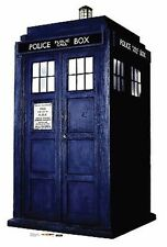 Doctor Who Tardis Whovian Booth British Life Size Standup Cardboard Cutout 881