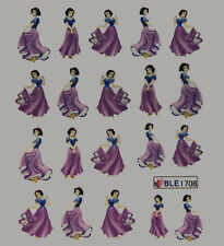 Snow White (1708) 3d Uñas calcomanías de transferencias calcomanías Compre 2 obtenga 1 gratis