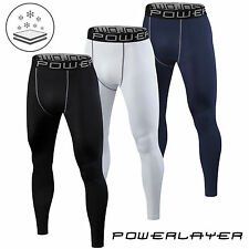 Mens Boys Body Armour Compression Base Layer Leggings Bottoms Thermal Under Gear