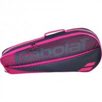 Babolat 3-Racket Bag Racket Holder RH3 Essential Black/Pink 74 x 12 x 30 cm