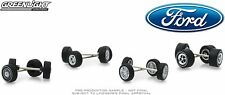 Ford Wheel and Tire Multipack Set,Scale 1:64 by Greenlight