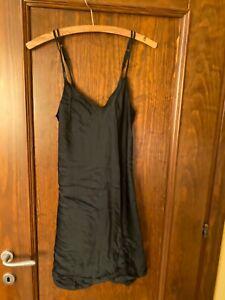 Intimissimi silk black Nightdress sleepwear nightgown size s
