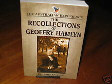 The Recollections of Geoffry Hamlyn Henry Kingsley. NEW best Aust novel  in MELB