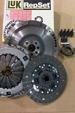 Toyota RAV 4 MK II 2.0 D-4D 4WD Dual mass to single flywheel and LUK clutch kit