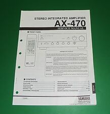 Original Yamaha AX-470 Service Manual