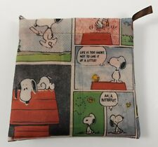 Snoopy Woodstock / Peanuts - Tasche Einkaufstasche Beutel Bag Tüte Groß bunt Neu