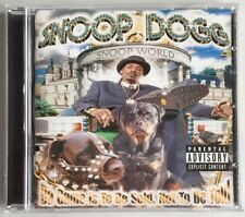 Snoop Dogg / Da Game Is To Be Sold, Not To Be Told / Full Album / Audio-CD