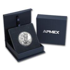 2017 1 oz Silver American Eagle BU (w/APMEX Gift Box)