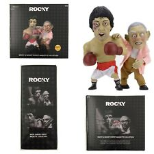 """ROCKY 12"""" & MICKEY 10"""" PUPPETS MAQUETTES Neca ROCKY Limited 2018 TWO PACK"""
