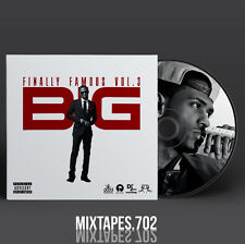 Big Sean - Finally Famous 3 Mixtape (Full Artwork CD Art/Front Cover/Back Cover)
