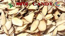 Fresh Sliced Natural Raw Almonds  1 lb (same day shipping)