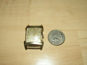 VINTAGE PAUL BREGUETTE MENS WATCH 10K GOLD FILLED WITH 17 JEWEL MOVEMENT