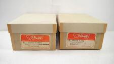 STEIFF 2x Händler Kartons / Box für Handpuppe MECKI & FOXY 50/60er Jahre (K82)