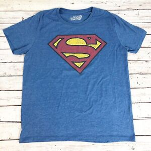 Old Navy Superman Vintage/Weathered Look T-Shirt - Size L