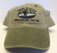 Tri-Cities Hat Cap Take A Hike Tennessee & Virginia USA Embroidery Prefade New