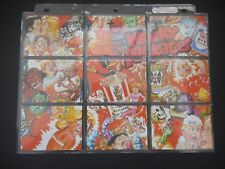 2013 Wacky Packages 8th Series 8 Complete Set Puzzle Checklist No Sketch 89/150