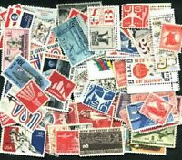 AIRMAILS Stamp Collection 60 Different Mint NH United States Airmails many older