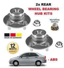für Suzuki Liana 1.6 2001-2008 NEU 2 X Hinterrad Nabe Lagerkit ohne ABS Satz