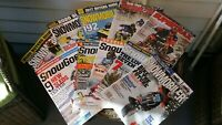 American Snowmobiler  Super Trax  Snow Goer lot of 10 magazines.