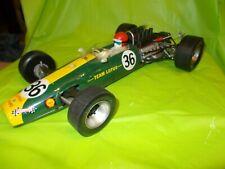 "LOTUS 49 FORD F-1 BATTERY OPERATED TOY RACE CAR MARKED ""ORIGINAL JUNIOR PRODUCT"""