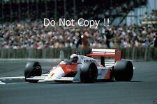 Alain Prost McLaren MP4/3 British Grand Prix 1987 fotografía