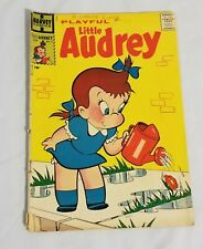 Playful Little Audrey #2 Silver Age Harvey Comic 1957 G