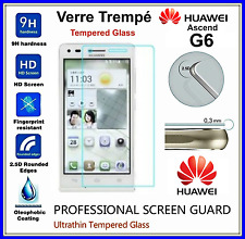 HUAWEI ASCEND G6 Tempered Glass Vitre de protection d'écran en VERRE TREMPE