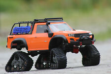 Traxxas 82034-4 Orange TRX-4 Sport With all Terrain Chains LED Rtr 1:10 New