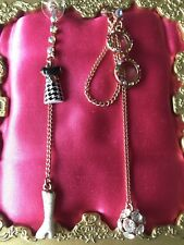 Betsey Johnson 60's Mod Retro Glasses Dress Boots Wardrobe Mismatch Earrings