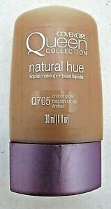 COVERGIRL Queen Collection Natural Hue Liquid Makeup Q705 Amber Glow