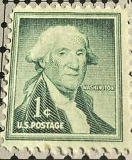 RARE George Washington ONE CENT STAMP SCOTT U.S.#1031