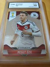 MESUT OZIL GERMANY 2014 PRIZM FIFA WORLD CUP # 88 GRADED 10
