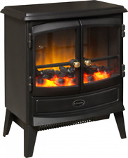 DIMPLEX Springborne Optiflame Electric Stove 2KW COAL EFFECT FIRE REMOTE HEATING