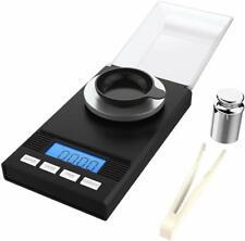 Homgeek Digital Pocket Scales Milligram Scale 50 X 0.001G Reloading Jewelry Mini