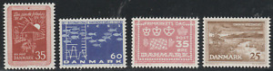 Denmak 1964 SC# 411 - 414 - Four different stamps - M-NH Lot # 019