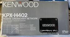1 Pair OLD SCHOOL Kenwood KPX-H402 Passive Crossover Network,NOS,NIB,Rare