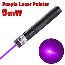 10mile Military Purple 5mw 532nm Laser Pointer Pen Light Visible Beam Burning TU
